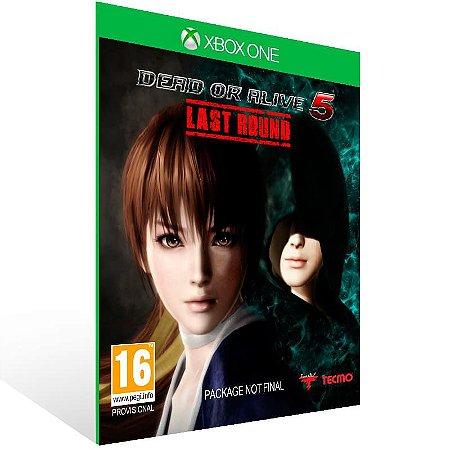 Dead Or Alive 5 Last Round - Xbox One Live Mídia Digital