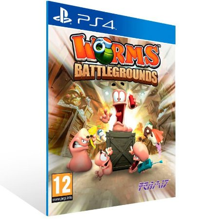 Worms Battlegrounds - Ps4 Psn Mídia Digital
