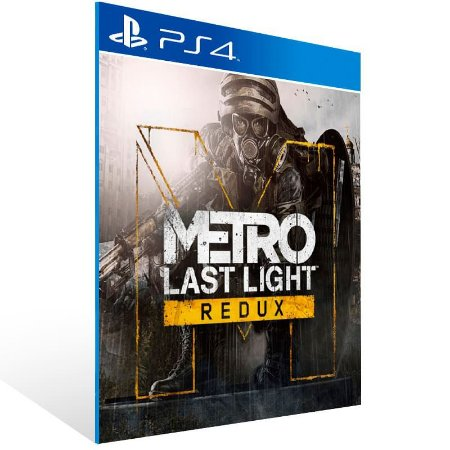 Metro Last Light Redux - Ps4 Psn Mídia Digital