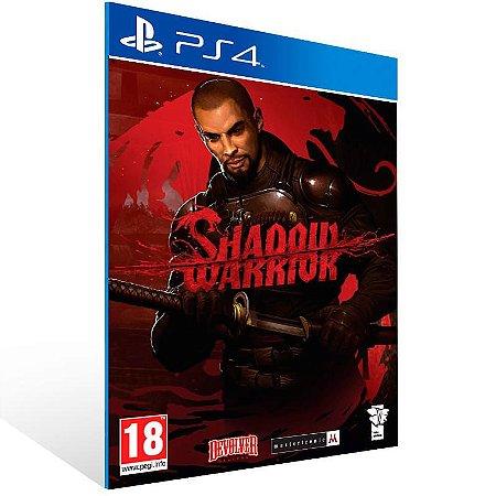 Shadow Warrior - Ps4 Psn Mídia Digital