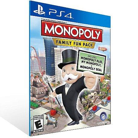 Monopoly Family Fun Pack - Ps4 Psn Mídia Digital