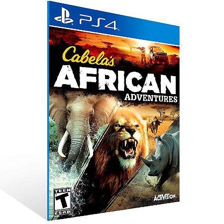 Cabela African Adventures - Ps4 Psn Mídia Digital