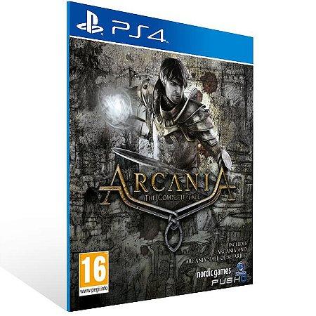Arcania The Complete Tale - Ps4 Psn Mídia Digital