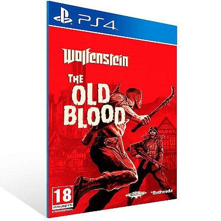 Wolfenstein The Old Blood - Ps4 Psn Mídia Digital
