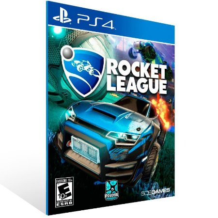 Rocket League - Ps4 Psn Mídia Digital