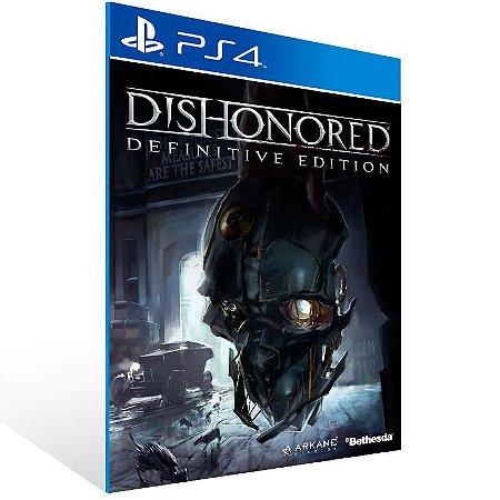 Dishonored Definitive Edition - Ps4 Psn Mídia Digital