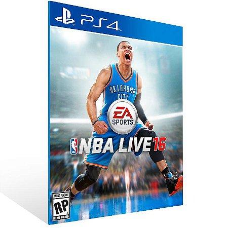 Ea Sports Nba Live 16 Standard Edition - Ps4 Psn Mídia Digital