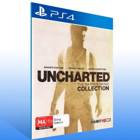 Uncharted The Nathan Drake Collection - Ps4 Psn Mídia Digital