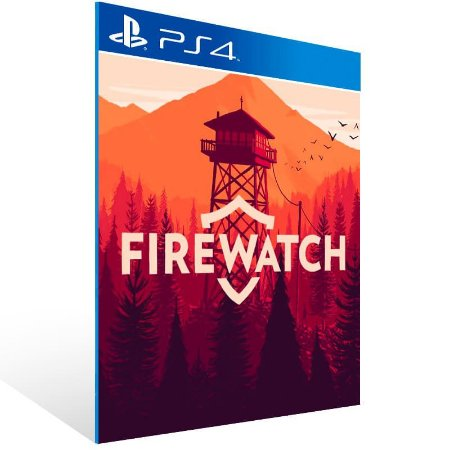 Firewatch - Ps4 Psn Mídia Digital