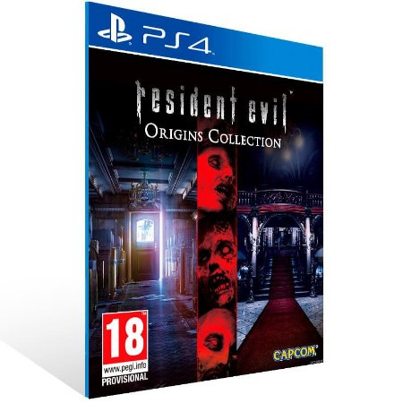 Resident Evil Deluxe Origins Bundle - Ps4 Psn Mídia Digital