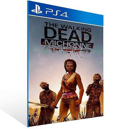 The Walking Dead Michonne A Telltale Miniseries - Ps4 Psn Mídia Digital