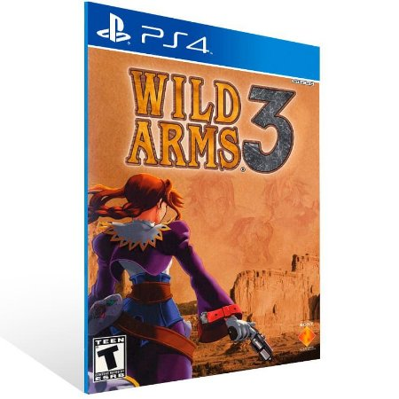 Wild Arms 3 - Ps4 Psn Mídia Digital