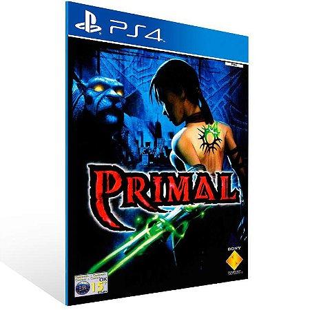 Primal - Ps4 Psn Mídia Digital