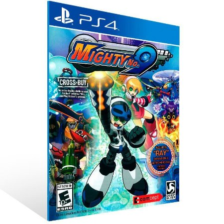 Mighty No 9 - Ps4 Psn Mídia Digital