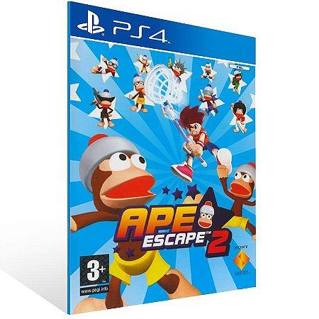 Ape Escape 2 - Ps4 Psn Mídia Digital