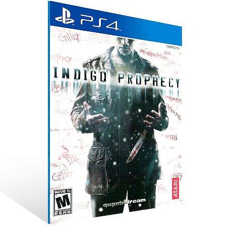 Indigo Prophecy - Ps4 Psn Mídia Digital