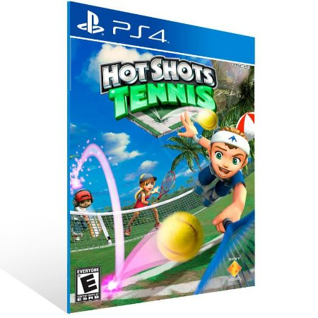 Hot Shots Tennis - Ps4 Psn Mídia Digital