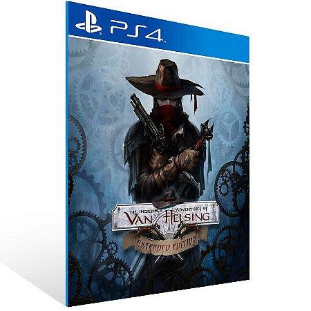 The Incredible Adventures Of Van Helsing Extended Edition - Ps4 Psn Mídia Digital