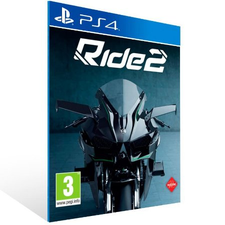 Ride 2 - Ps4 Psn Mídia Digital
