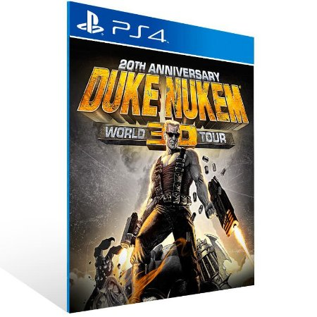 Duke Nukem 3D 20Th Anniversary World Tour - Ps4 Psn Mídia Digital