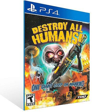 Destroy All Humans - Ps4 Psn Mídia Digital