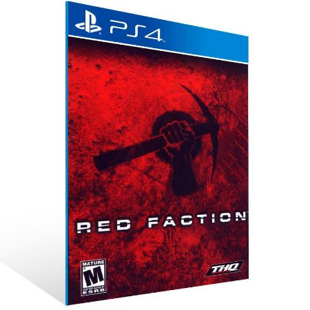 Red Faction - Ps4 Psn Mídia Digital