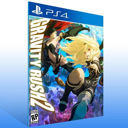 Gravity Rush 2 - Ps4 Psn Mídia Digital