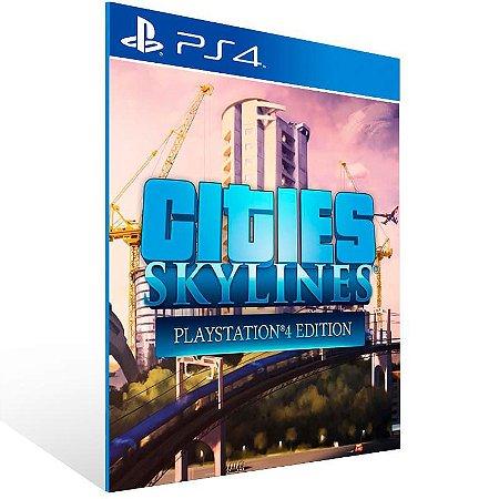 Cities Skylines Playstation 4 Edition - Ps4 Psn Mídia Digital