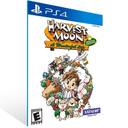 Harvest Moon A Wonderful Life Special Edition - Ps4 Psn Mídia Digital