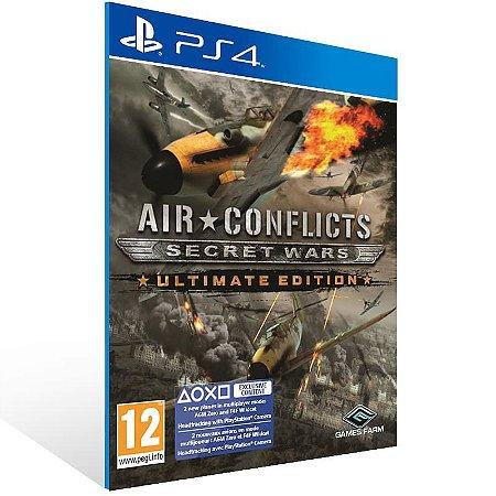 Air Conflicts Secret Wars Ultimate Edition - Ps4 Psn Mídia Digital