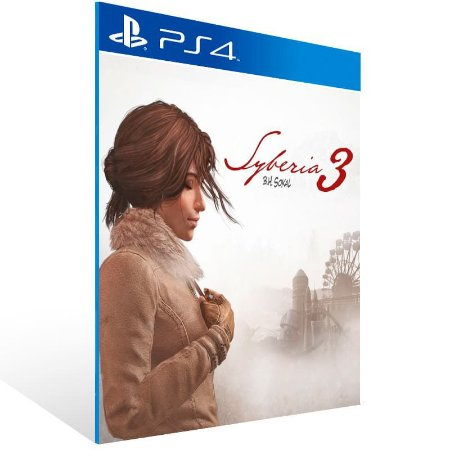Syberia 3 - Ps4 Psn Mídia Digital