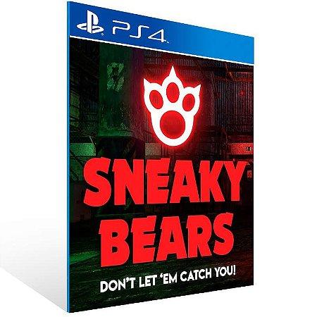 Sneaky Bears Ps Vr - Ps4 Psn Mídia Digital