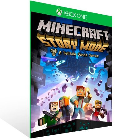 Minecraft Story Mode Season Two The Complete Season (Episodes 1-5) - Xbox One Live Mídia Digital
