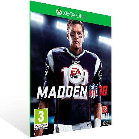 Madden NFL 18 - Xbox One Live Mídia Digital