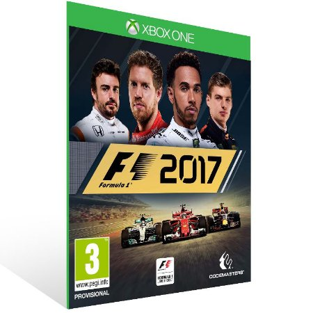 F1 2017 - Xbox One Live Mídia Digital