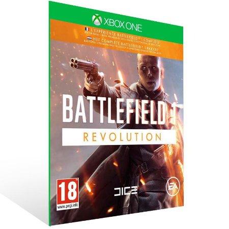 Battlefield 1 Revolution - Xbox One Live Mídia Digital