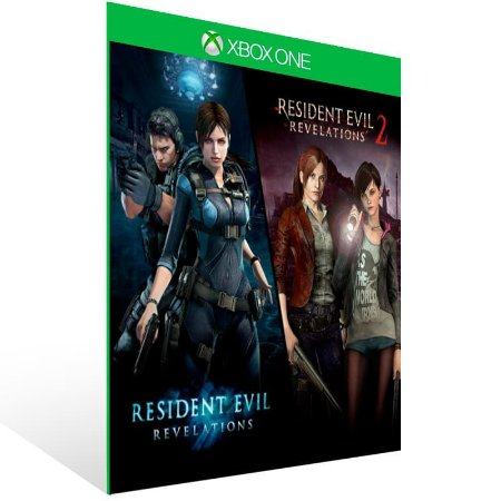 Resident Evil Revelations 1 & 2 Bundle - Xbox One Live Mídia Digital