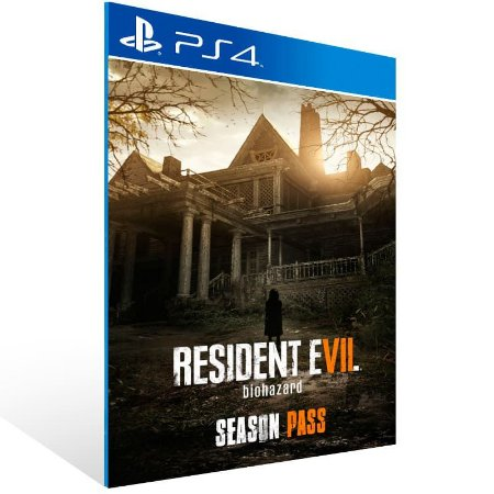 Resident Evil 7 biohazard Season Pass - Ps4 Psn Mídia Digital