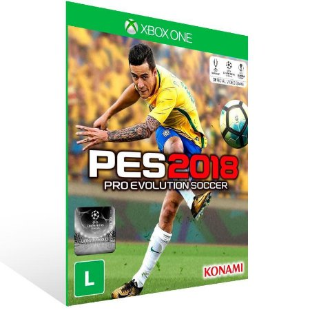 Pro Evolution Soccer 2018 Pes 18 - Xbox One Live Mídia Digital