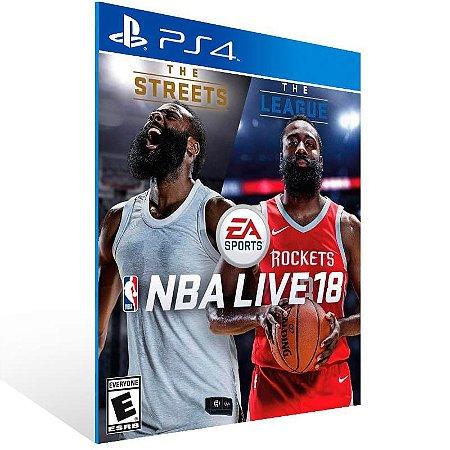 NBA LIVE 18 The One Edition - Ps4 Psn Mídia Digital