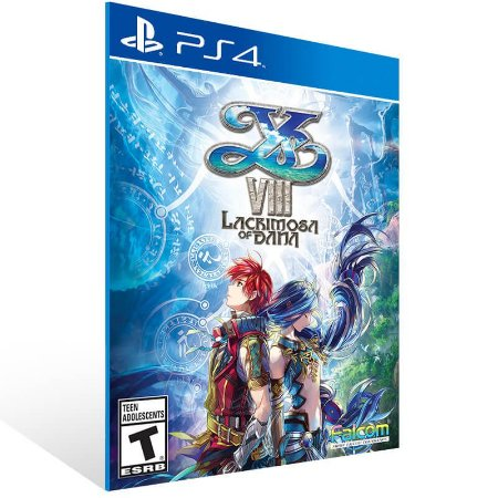 Ys VIII Lacrimosa of DANA - Ps4 Psn Mídia Digital