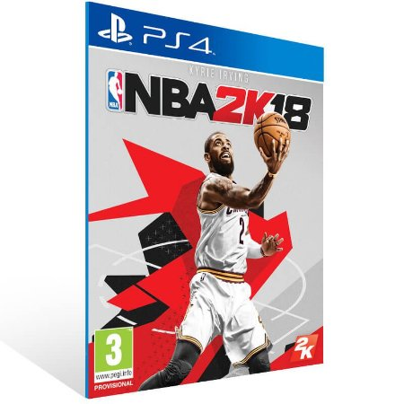 NBA 2K18 - Ps4 Psn Mídia Digital