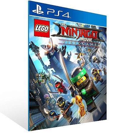 LEGO Ninjago Movie Video Game - Ps4 Psn Mídia Digital