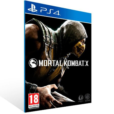 Mortal Kombat X - Ps4 Psn Mídia Digital