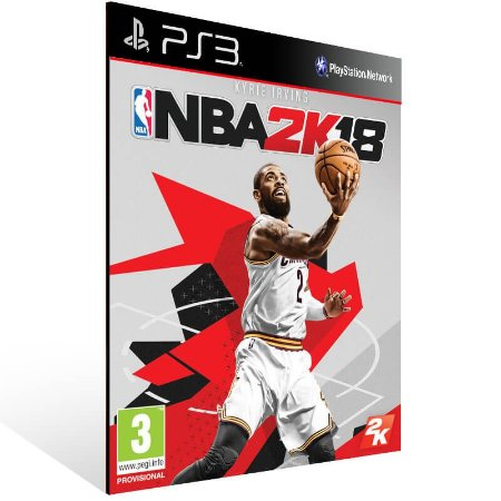 NBA 2K18 - Ps3 Psn Mídia Digital