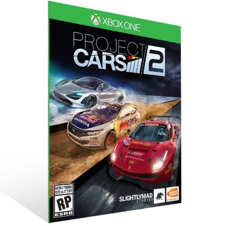 Project Cars 2 - Xbox One Live Mídia Digital
