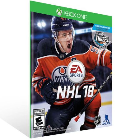 EA SPORTS NHL 18 - Xbox One Live Mídia Digital