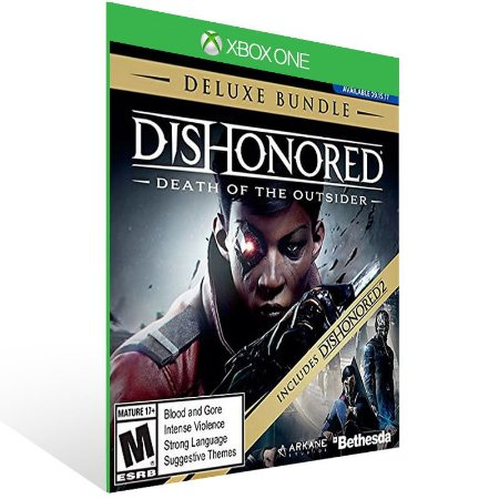 Dishonored: Death of the Outsider Deluxe Bundle - Xbox One Live Mídia Digital