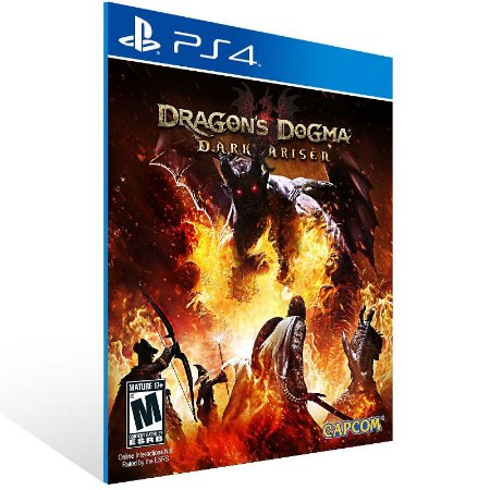 Dragons Dogma Dark Arisen - Ps4 Psn Mídia Digital