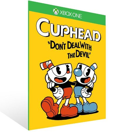 Cuphead - Xbox One Live Mídia Digital